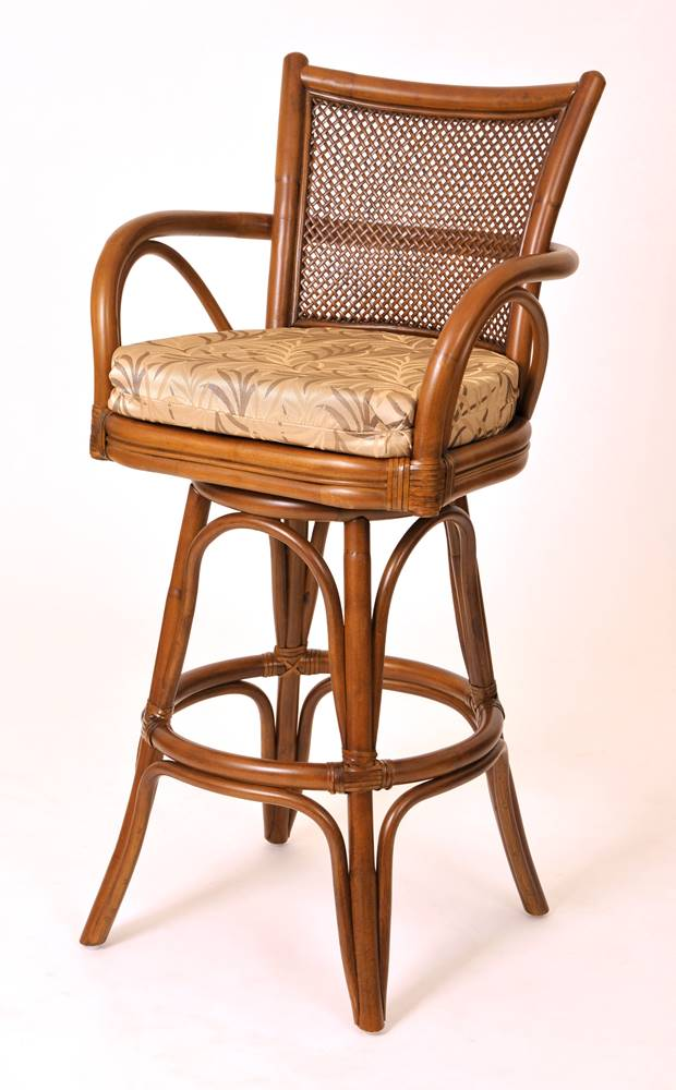 Singapore Barstool Wicker One Imports Your Casual Furniture Store In Orlando