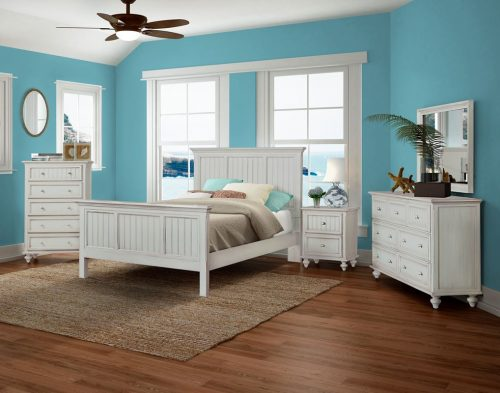 Monaco Bedroom Collection Bleu Finish Wicker One Imports Your Casual Furniture Store In